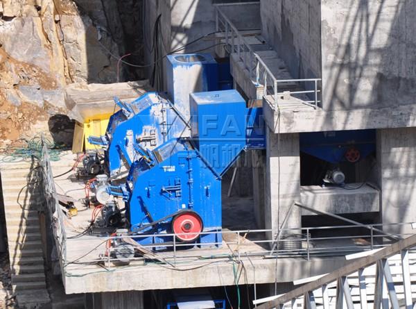 1500 TPH línea de producción de piedra caliza en Lichuan, China