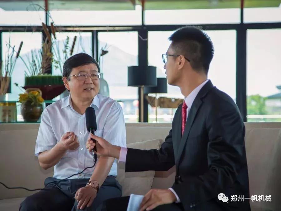 集团董事长杨安民接受中国砂石协会融媒体中心的专访